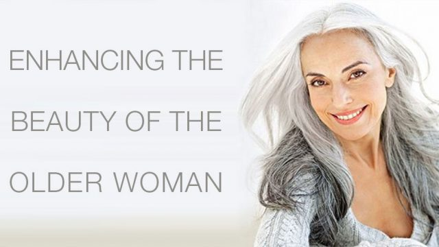 Enhancing the Beauty of the Older Woman